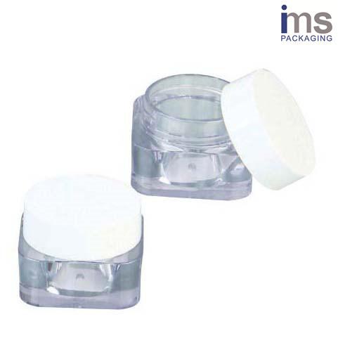5ml Square Plastic Cosmetic Pot
