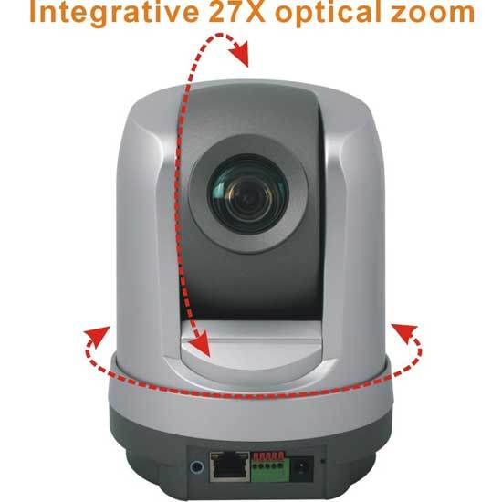 700tvl WiFi H. 264 27X Optical Zoom Dome PTZ IP Camera Wireless Camera (IP-109HW)