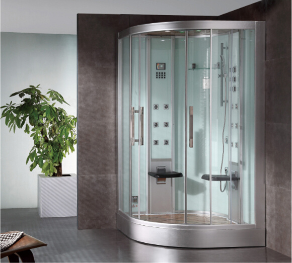 2016 New Style Luxury Steam Shower Enclosure with Tempered Glass Asts1062