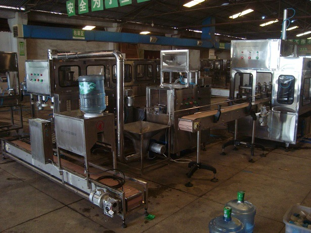 5gallon Water Bottling Machine with 100bottles/Hour Capacity