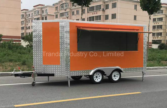 2017 Hot Selling Philippines Vending Food Cart