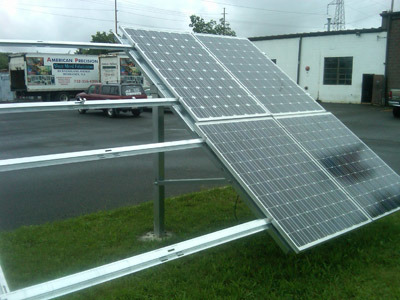 5000W Solar PV Mounting System/Solar Panel Mounting Structure/Standing Seam Roof Mounting Bracket