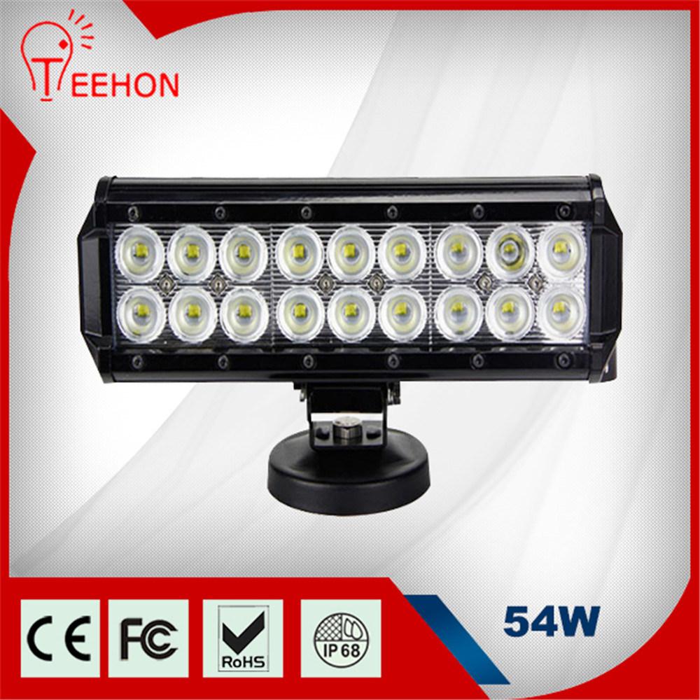 54W Offroad LED Light Bar Fog Light for Truck Fire Light Bars