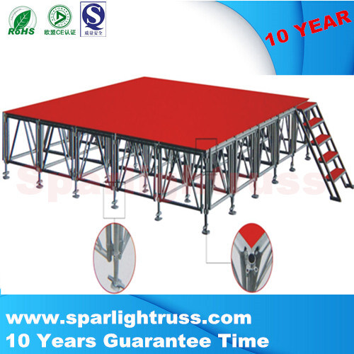 Aluminum Easy Install Rectangle Event Portable Stage
