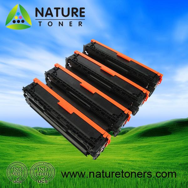 Color Toner Cartridge for HP CB540A, CB541A, CB542A, CB543A