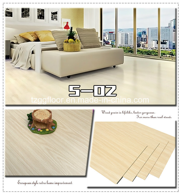 Factory Cheap Wear Resistant PVC Floor Laminate Vinyl Flooring
