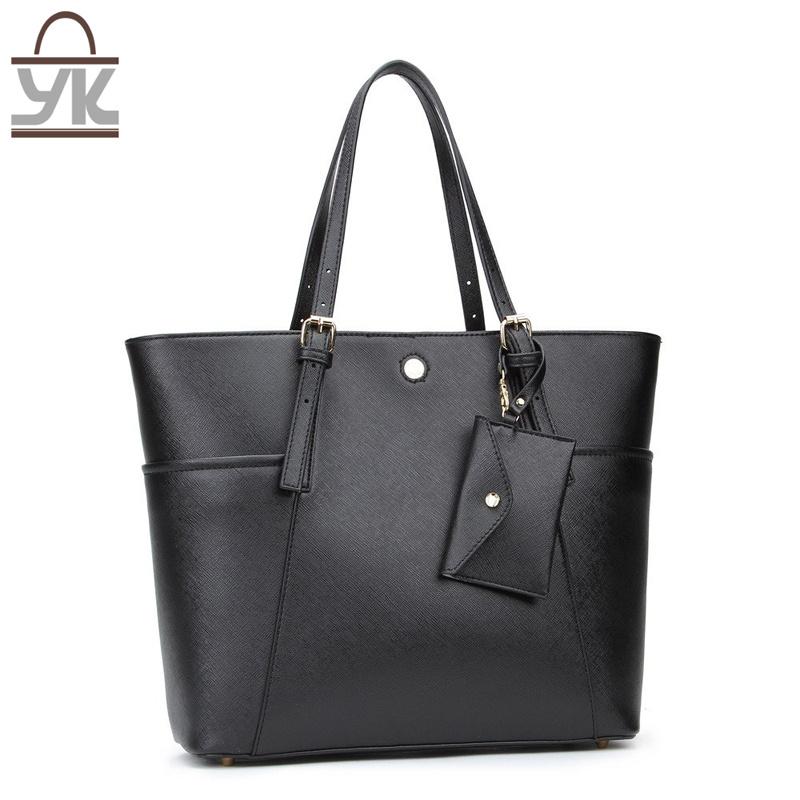 Tote PU Leather Leisure Women Designer Handbag