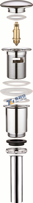 Top Selling Pop up /Clic-Clac Basin Waste with Pipe (T1001-A)