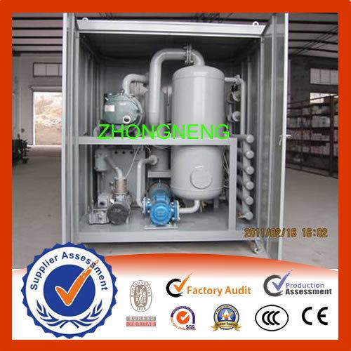 Zhongneng Transformer Oil Filtering Machine Zyd