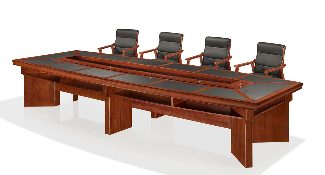 China Wooden Veneer Executive Conference Table (OWMT1501 48)   China Meeting  Table, Conference Table