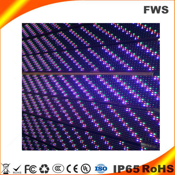 DIP P16 Outdoor Full Color LED Display Module 2r1g1b