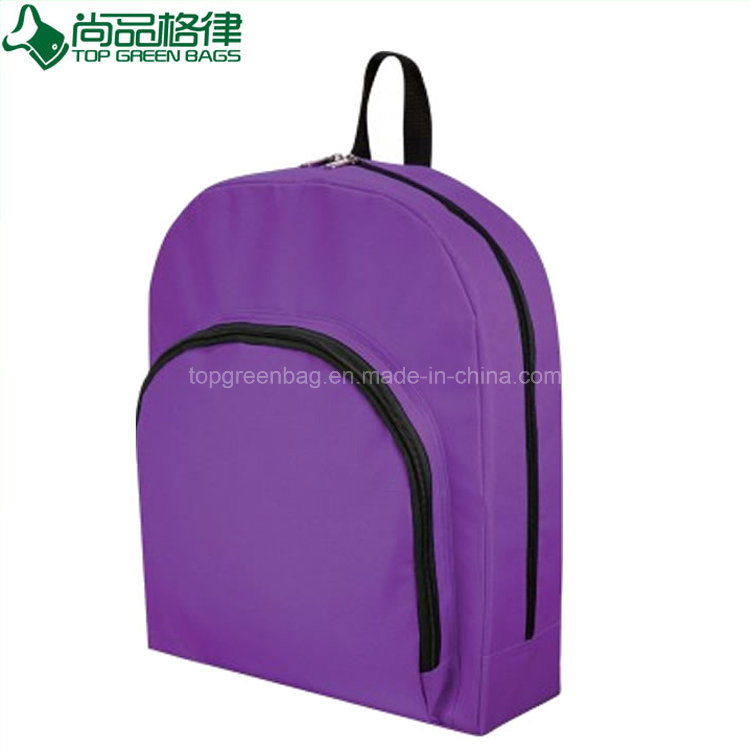 Cheap Customized Promotional Simple Polyester Backpack Bag for Sale