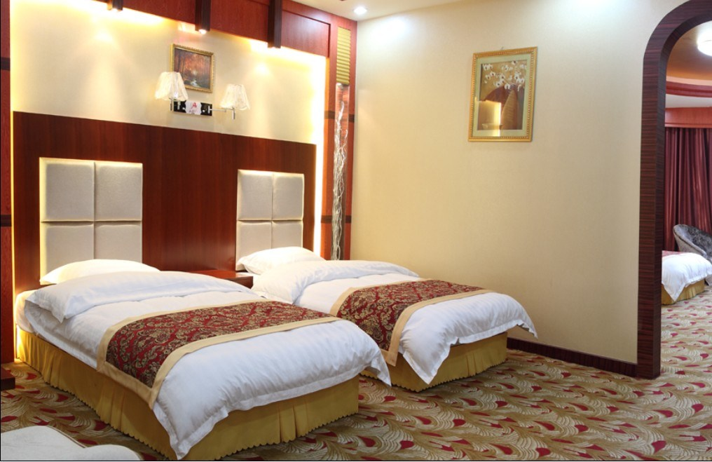 China Hotel Bedroom Furniture Luxury Double Bedroom