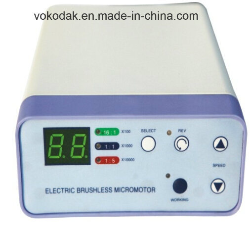 Hot Sale Brushless Eletric Micromotor with Light and Water