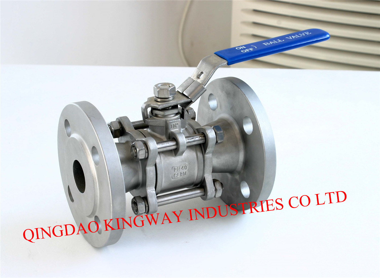 Stainless Steel 3-PC Flanged Ball Valve (BT-3F)