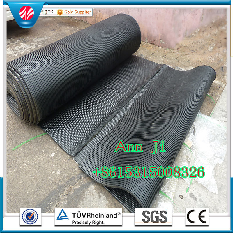 Anti Slip Durable Rubber Stable Mat in Roll, Cow Stable Tile Mats