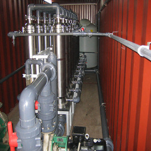 Emergency Mobile Water Treatment Plant