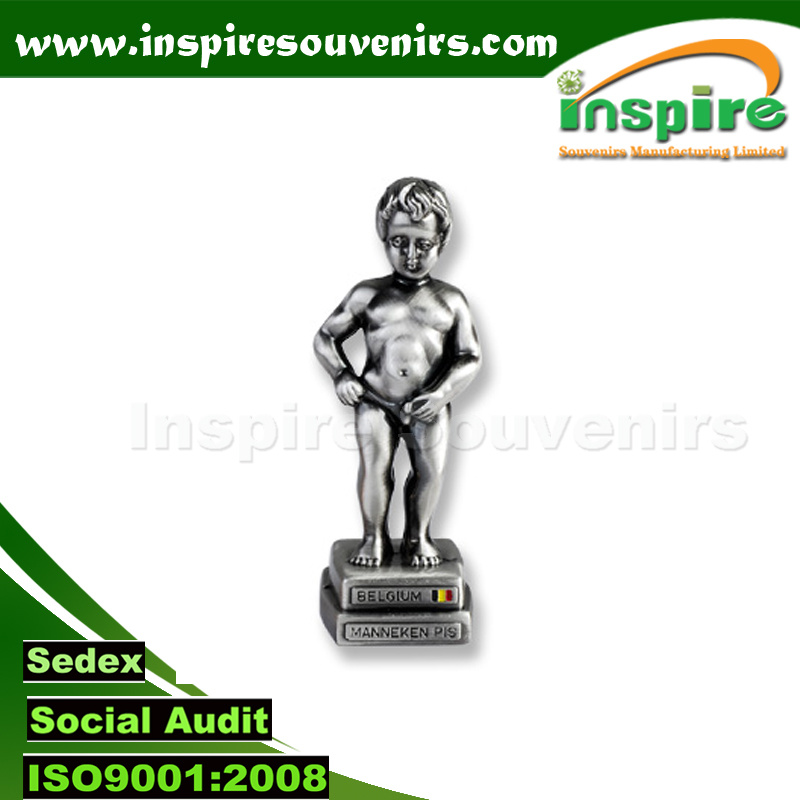 Belgium Pissing Boy 3D Statue for Souvenir