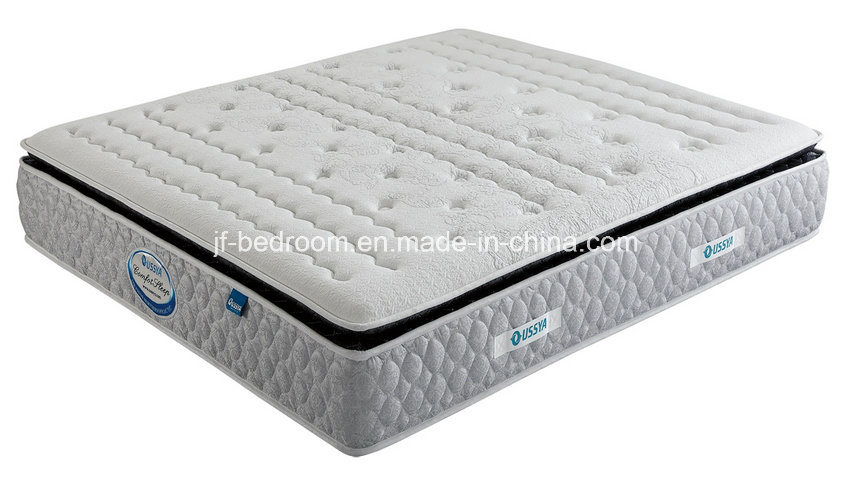 King Luxury Soft Foam 3 Zone Pocket Coil Mattress (WL203)