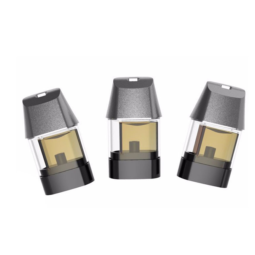 Newest Flat Cbd Oil Vaporizer Ceramic Coil E Cigarette Kit