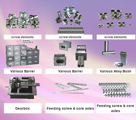 Spare Parts for Twin Screw Extruder