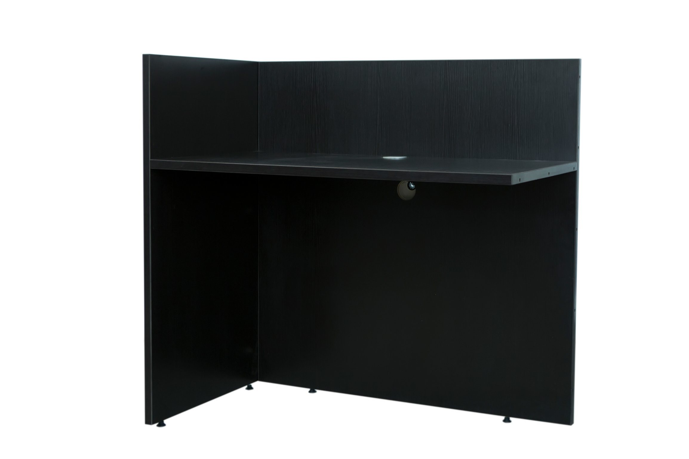 Modern High Quality MFC Board Office Furniture Reception Desk Shell-Reversible