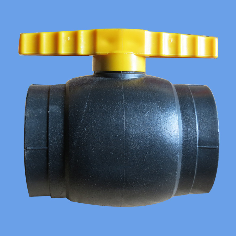 HDPE Ball Valve Fitting for Water Supply with Factory Price