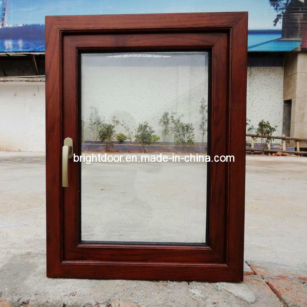 Latest Design Aluminum Wood Windows (CL-W2001)