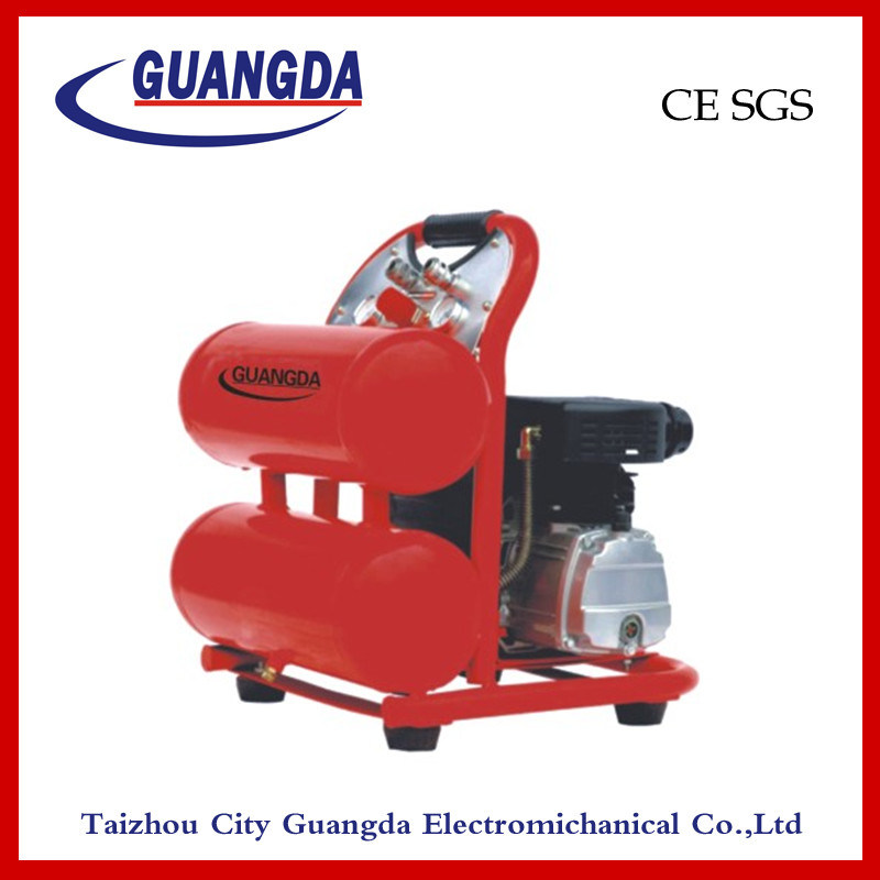 CE SGS 2HP 16L Double Tank Air Compressor (ZFL16)