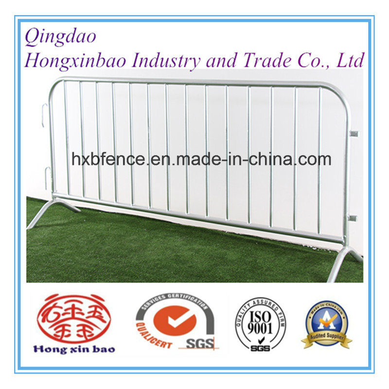 Removable Bridge Feet Crowd Control Barrier Temporary Fence