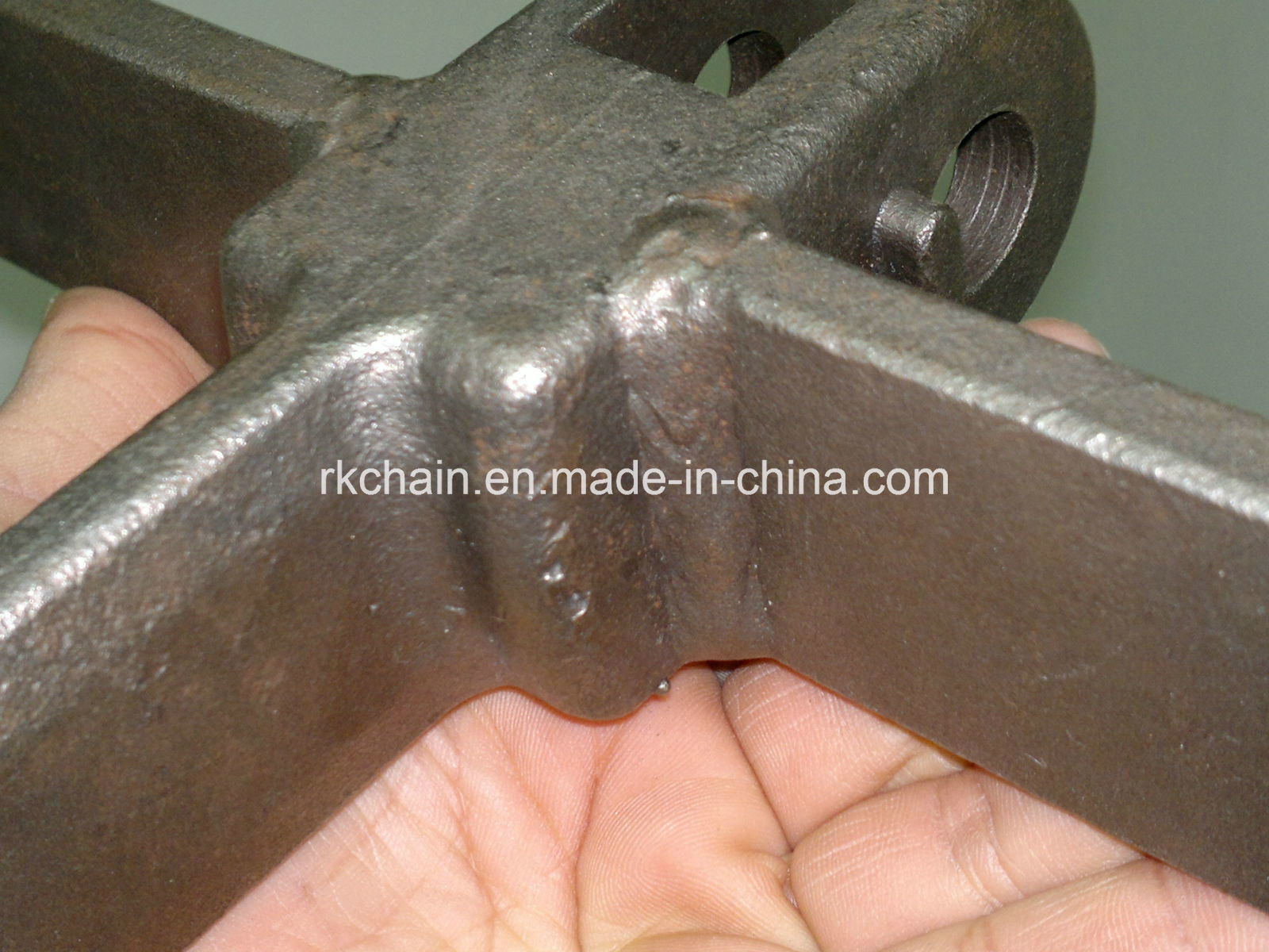 Forged Scraper Chain Link Chain with Flight (P102, P142, P200)