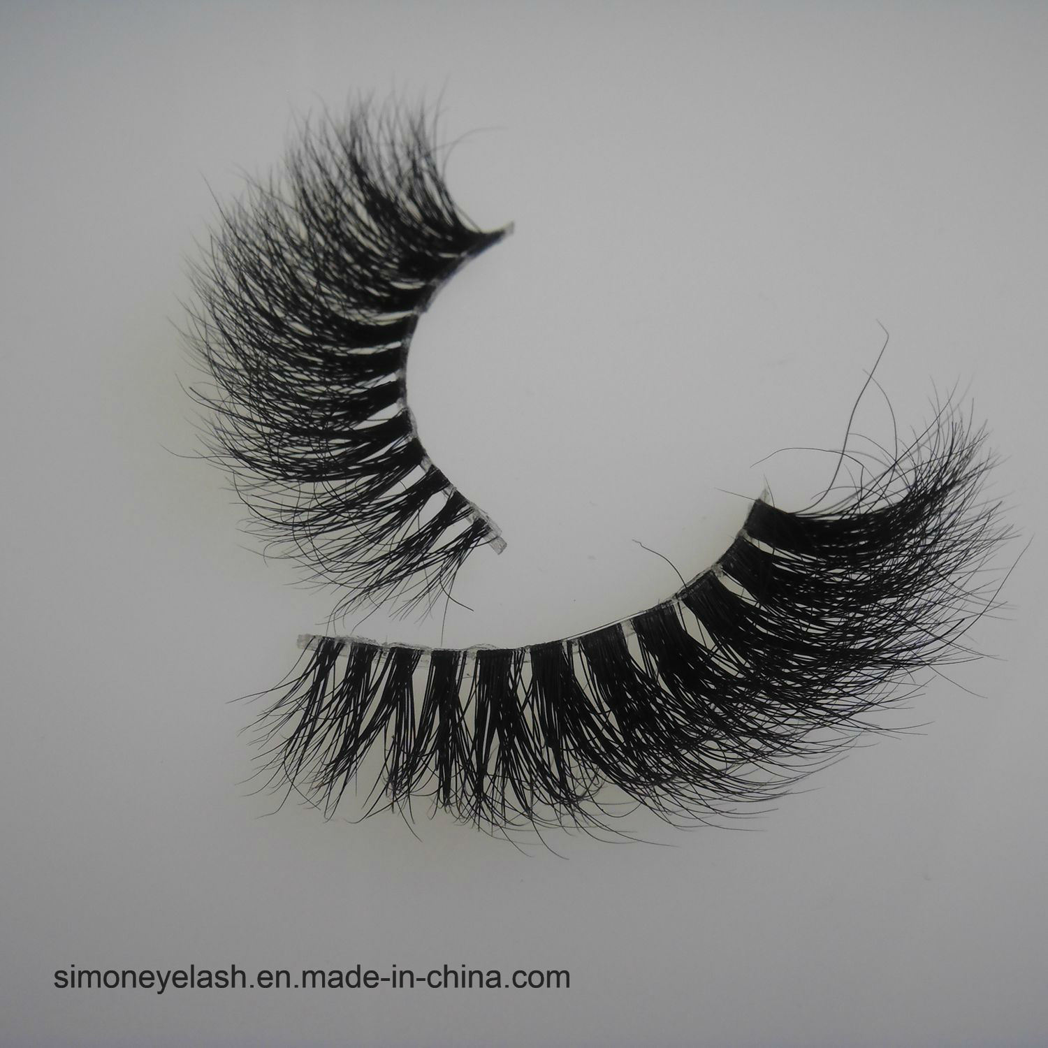 Mink Hair Transparent Plastic Terrier Eye Lashes Strengthen 3D Eyelash