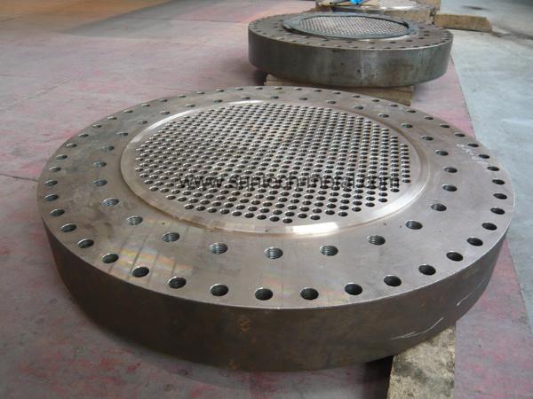 Titanium Clad Tube Plate Machind and Drilled (E011)