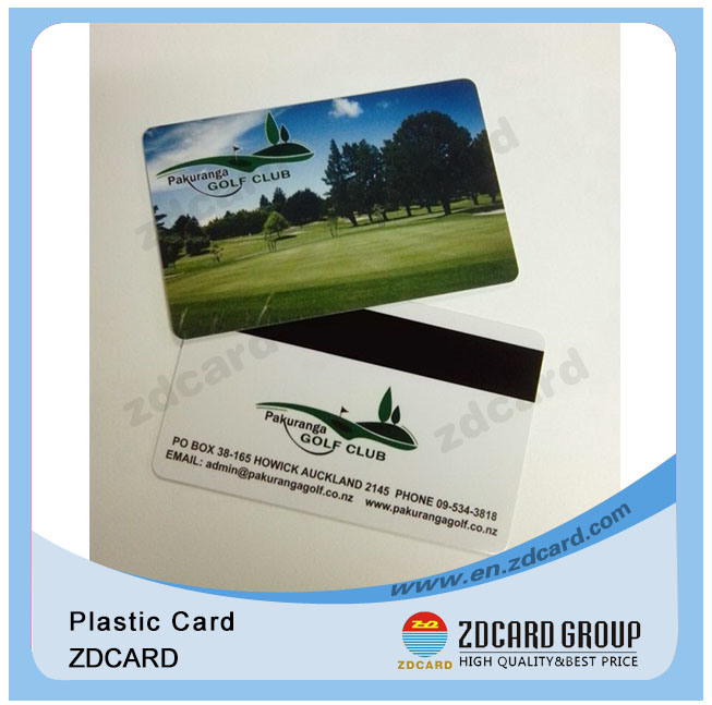 Printed PVC Card/Offset Printing Scratch off Card