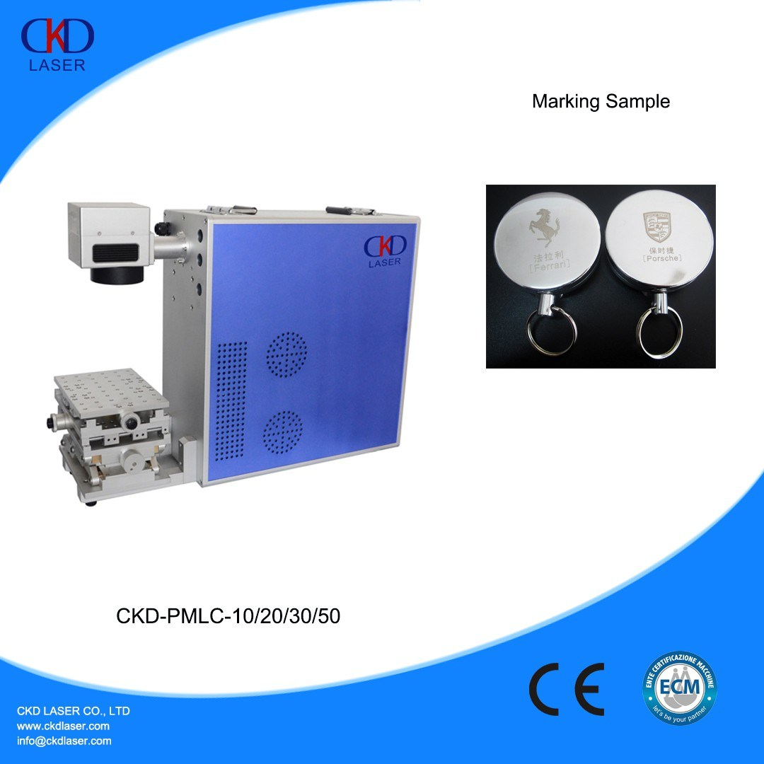 10W 20W 30W Metal Marking Fiber Laser Machine for Ring