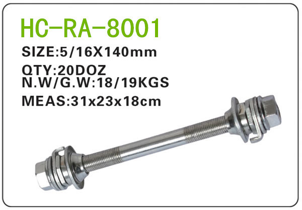 Bicycle Parts Steel Axle (RA-8001)