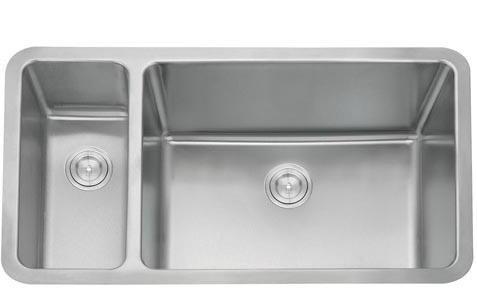 Kitchen Sink, Double Stainless Steel Sink (D02)