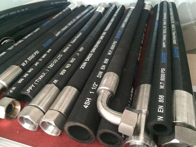 Super Flexible High Pressure Hose/ Hydraulic Rubber Hose/ Oil Hose
