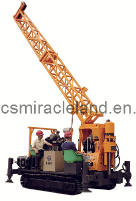 Crawler Mounted Mobile Water Well, Mining Exploration, Core Drilling Rig (XY-4L)