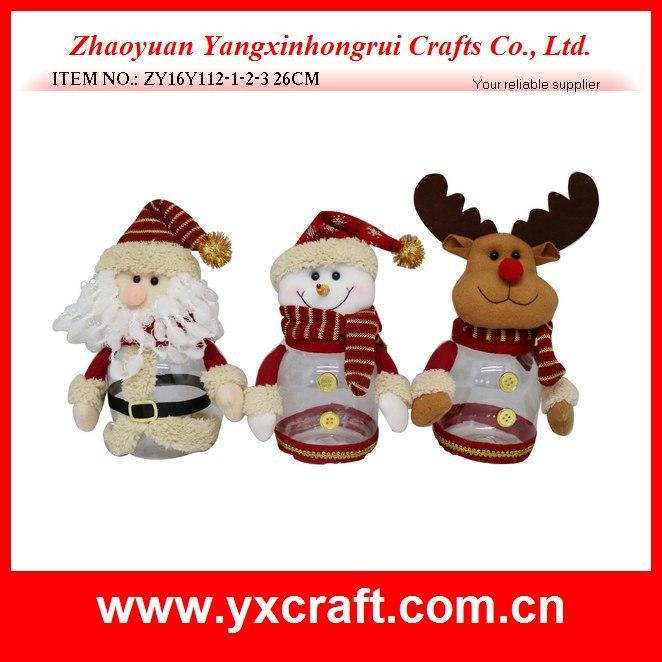 Christmas Decoration (ZY15Y149-1-2) Christmas Wholesale Gift Fabric Storage Basket