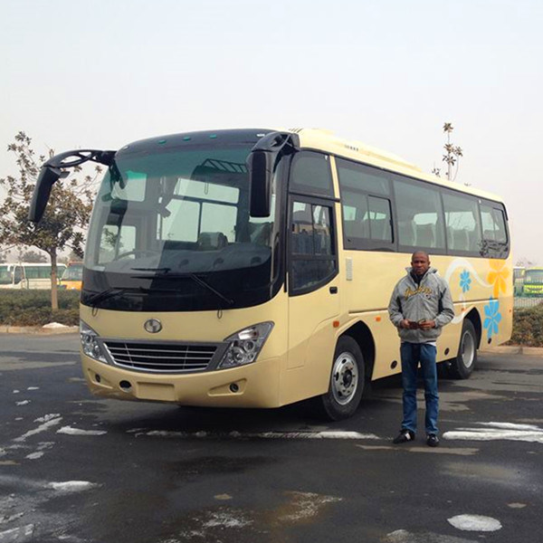 37 Seats 8m Passenger Bus with Yuchai Engine for Sale
