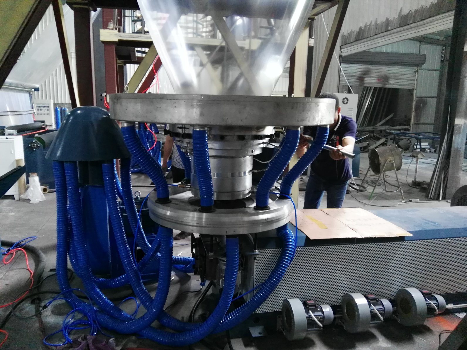 3000mm Big Wide Blown Film Machine PE Extruder