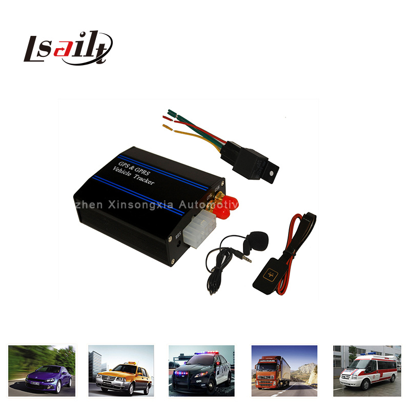GPS/GSM Vehicle Tracker with Sos Alarm/Mic/Phone Interface