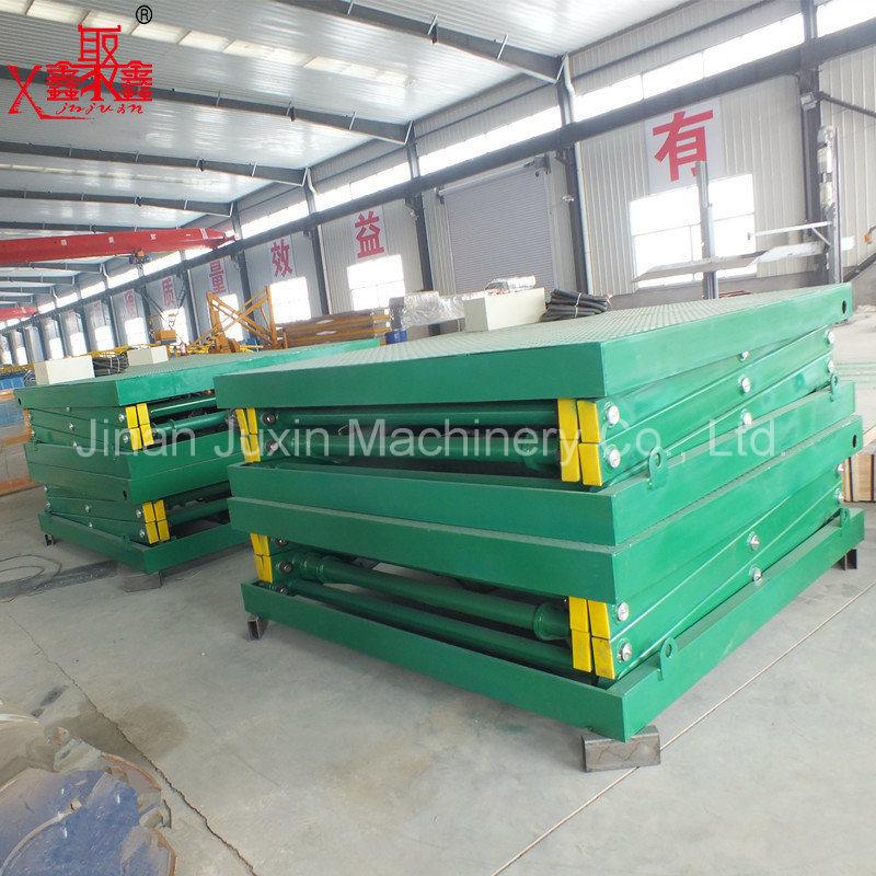 2 Ton Electric Stationary Scissor Lift Platform