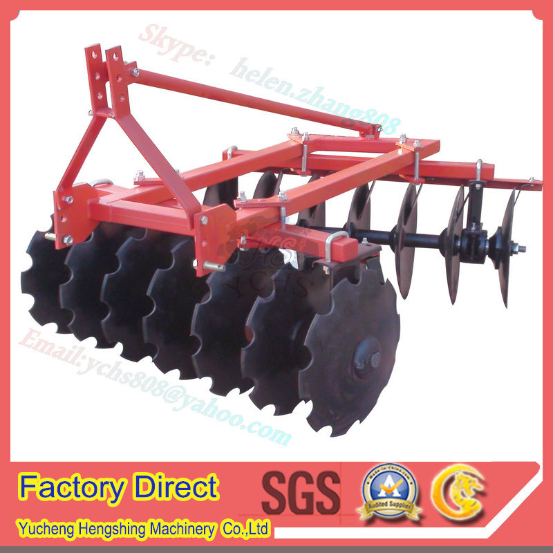Agricultural Machinery Disc Harrow Hydraulic Power Tiller for Yto Tractor