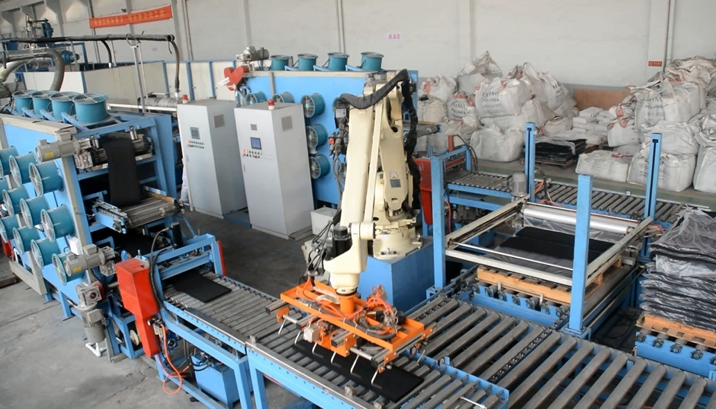 Scrap Tire to Reclaimed Rubber Production Line