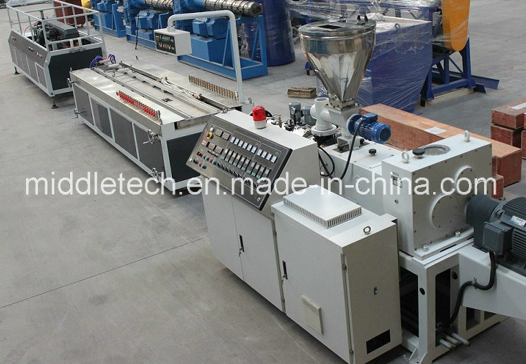 Wood Plastic/WPC Profile Extruder Machine