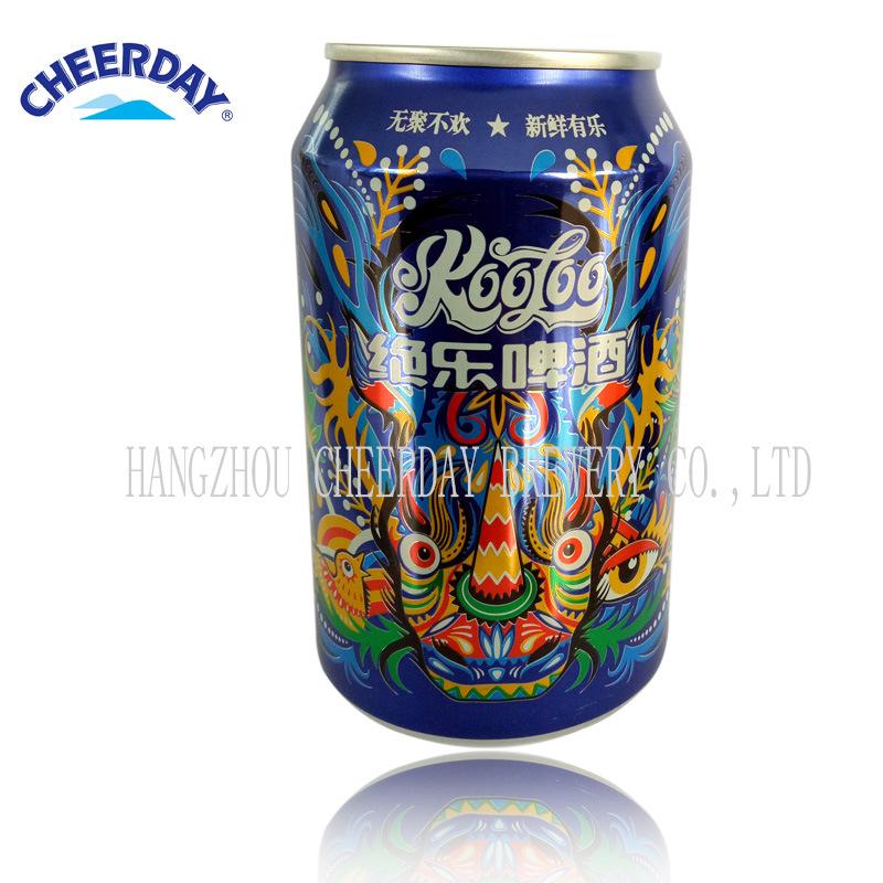 OEM Abv3.7% 330ml Canned Wheat Beer