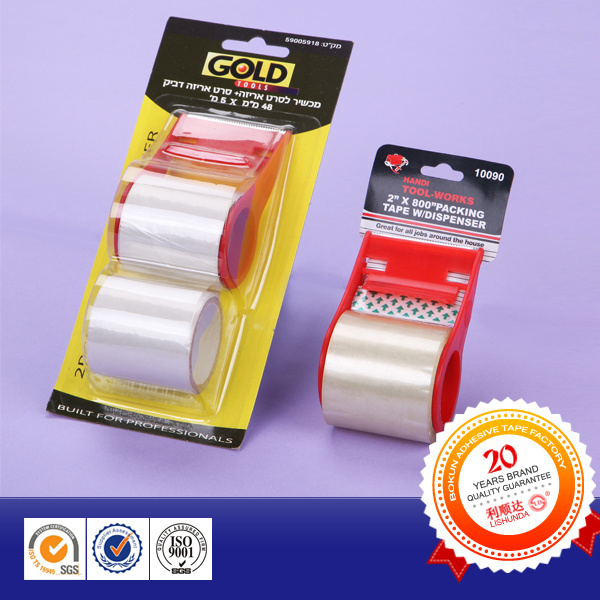 Office Stationery Packing Tape with Cutter