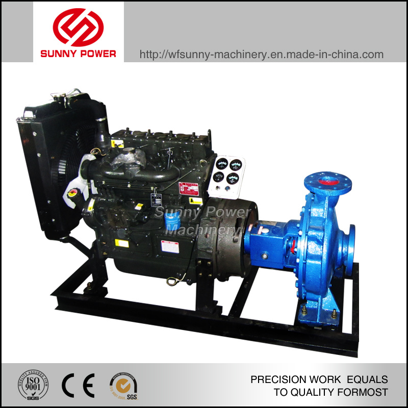 6-8inch Diesel Water Pump for Irrigation with Weather-Proof Canopy